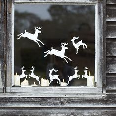 find this pin and more on winter snowy oo image from wwwcoxandcoxcouk christmas window decoration ideas - Christmas Window Decorations