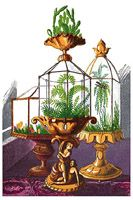 The Wardian case was the Victorian version of the modern terrarium. Whether it was a grand or humble container, Wardian Case Designs were the best reminder of the existence of the beauty of the outdoor world that could be had for all the seasons, close inside the home. In the 19th century, the Wardian case became a highlight of Victorian drawing rooms.