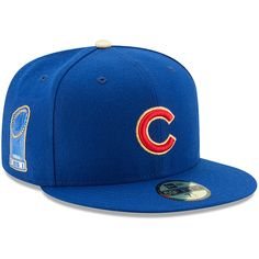 a9e7a3853cc Chicago Cubs 2017 Gold Program World Series Champions Commemorative 59FIFTY Fitted  Hat by New Era®
