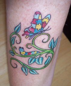 Tattoo for Autism.