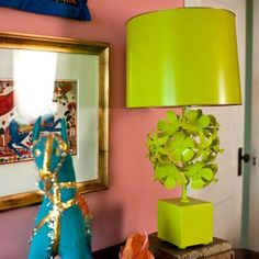 Cantrel Lamp from PoshTots  **cg** Lighting for Tweens