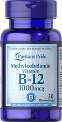 Methylcobalamin Vitamin B-12 1000 mcg <p>Methylcobalamin is a predominant and active form of Vitamin B-12 that supports heart health and energy metabolism**</p>  <p>Regular Vitamin B-12 supplements must be converted in the body to Methylcobalamin before they can provide any benefits – Methylcobalamin supplements allow you to bypass this step for quicker absorption</p>  30 Microlozenges 1000 mcg