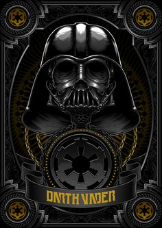 Probably one of the best Darth Vader art work I've ever seen