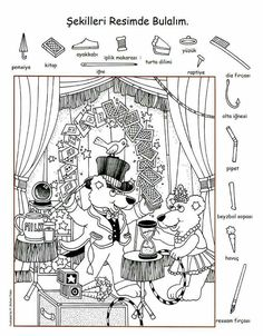 english lessons for kids teaching Hidden Picture Games, Hidden Picture Puzzles, Alphabet Activities, Preschool Activities, Kindergarten Learning, Alphabet Worksheets, Preschool Printables, Free Printables, Learning English For Kids