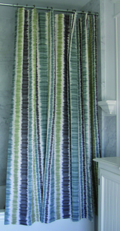 Shower Curtains Can Be Made From Any Of Our Wide Assortment Fabrics