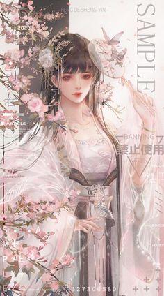 Cool Anime Girl, Beautiful Anime Girl, Kawaii Anime Girl, Anime Art Girl, Chinese Drawings, Chinese Art, Chica Fantasy, Beautiful Fantasy Art, Anime Drawings Sketches