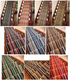 Lima Modern Striped Extra Long Cut to Measure Any Length Stair Carpet Runner Rug