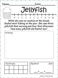 Word Problems - Addition and Subtraction within 10 | Kindergarten ...