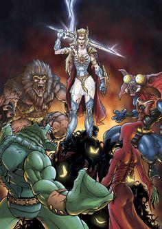 She-Ra vs. The Evil Horde - MOTU - Samy Hadj Ammar