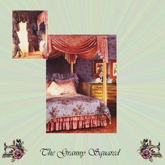 Bed Canopy, Bishop Drapes, Balloon Valence, Shower Curtain, Swags & Jabots, OOP McCalls Sewing Pattern 5129 Featuring 90 inch Fabrics by TheGrannySquared on Etsy
