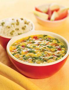 Masoor Dal ( Microwave Recipe ) recipe   Masoor Dal   by Tarla Dalal   Tarladalal.com   #33893