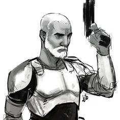 It must have been a tough 14 years… #CaptainRex...  This artwork is really good
