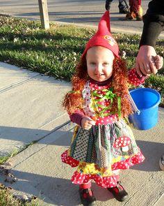 toddler baby gnome halloween costume little girl