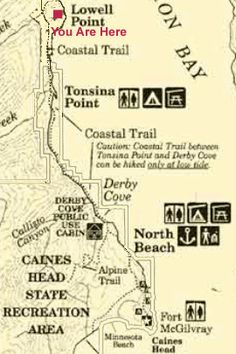 Caines Head: From Resurrection Bay, you can also walk the mile-long beach or trek the five-mile coastal trail to Caines Head, rated one of Alaska's top 10 hikes.