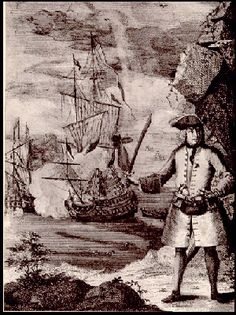 """Henry Every (unknown date of birth and death, most probably 1653 - 1696) was one of the most notorious pirates during the era that is today known as """"Golden Age of Pirates"""". Even though he operated as a pirate for only one year, he gained his significant reputation for being one of the few pirate captains who retired without being caught by the authorities, shortly after one of the most successful naval raids in the pirate history."""