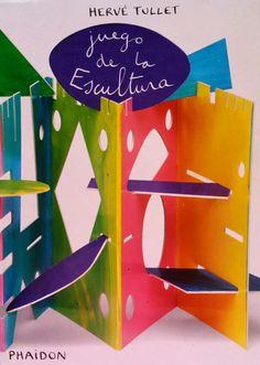 Un libro juego genial. Juego de la escultura de Hervé Tullet. Ed. Phaidon. Para convertir el libro en todas aquellas esculturas que se te ocurran. A la peque de 4 años le encanta.