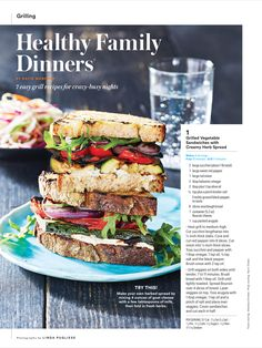 """""""Healthy Family Dinners®"""" from Family Circle, July 2017. Read it on the Texture app-unlimited access to 200+ top magazines."""
