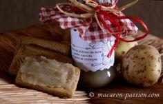 Confiture de pomme de terre et crème de châtaigne