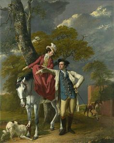 Mr and Mrs Coltman by Joseph Wright of Derby