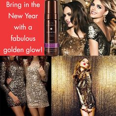 Heading out on the town for NYE? Top off your look with a fabulous skin finish thanks to Rapid Tan Mousse from @sephora! #vitaliberata #tan #tanning #skincare #NYE #newyear #party #glow #skinfinish