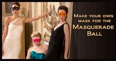 Make your own mask for the Masquerade Ball | Red Heart