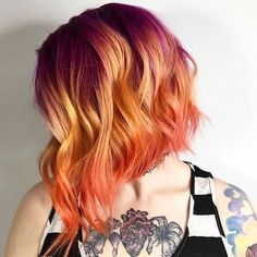 """7,723 Likes, 37 Comments - Pulp Riot Hair Color (@pulpriothair) on Instagram: """"@linapetrova from @salonred is the artist... Pulp Riot is the paint."""""""