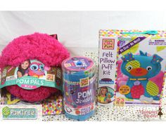 Mommy Katie: #Giveaway Creative Fun Gifts from PomTree