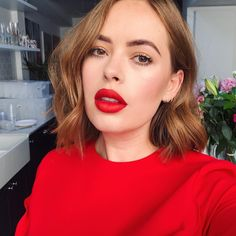 """145.3k Likes, 450 Comments - Tanya Burr (@tanyaburr) on Instagram: """"Big shout out to @adamburrell who did the most beautiful makeup on me for the #tanyaschristmas…"""""""