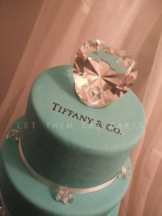 images of tiffany themed cakes - Google Search