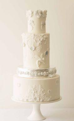 Wedding cake idea; Featured Cake: The Abigail Bloom Cake Company