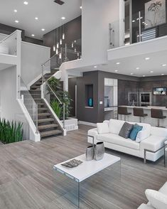 A Modern Open Concept! By Prorail Systems. Home Design : 40 Ideas For Living  ...