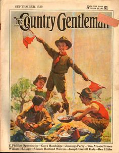 Boy Scouts - Country Gentleman 1930