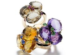 Celebrities who use a Pomellato Bahia Ring. Also discover the movies, TV shows, and events associated with Pomellato Bahia Ring. High Jewelry, Jewelry Rings, Jewelry Box, Jewellery, Pomellato, Bling Bling, Smokey Quartz, Beautiful Rings, Amethyst