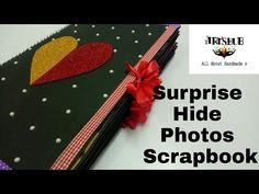 YouTube Anniversary Scrapbook, Anniversary Gifts, K Crafts, Hidden Photos, Pop Up Cards, Scrapbooks, Photo Cards, Scrapbook Pages, First Love