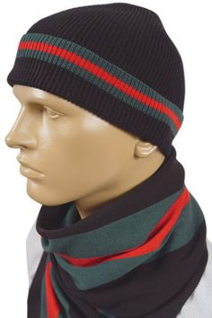 119.99 GUCCI Mens Hat Scarf Set  65 Gucci Hat ed37b82545e