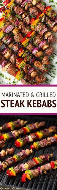 Steak Kebabs   Cake Cooking Recipes