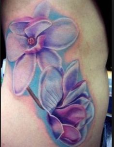 Larkspur tattoo | Flower tats