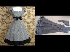 (2) top stylish & beautiful designer frock cutting step by step easy to make - YouTube