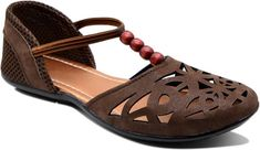 Myra Women Rich Brown Flats