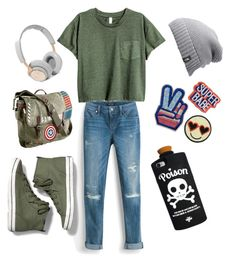 """Untitled #187"" by b-naimah ❤ liked on Polyvore featuring White House Black Market, Keds, Marvel, The North Face and B&O Play"