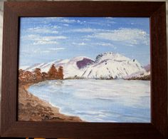 Your place to buy and sell all things handmade Scottish Mountains, Ben Nevis, Lovely Shop, Canvas Board, Scottish Highlands, Animal Paintings, Beautiful Paintings, Dark Wood, Special Gifts