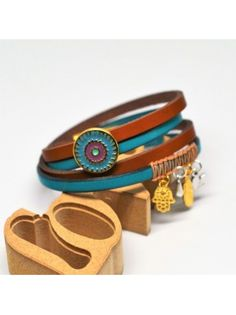 Βραχιόλι δερμάτινο boho Belt, Bracelets, Leather, Accessories, Jewelry, Fashion, Belts, Moda, Jewlery