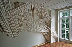 installation art by Carlie Trosclair