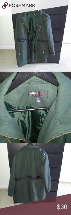 """Missy Sixty Long Coat Good Condition. Great for the winter or if you live in cooler areas. Length 33.5"""". SZ XL. Miss s Jackets & Coats"""