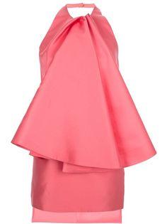 AMAYA ARZUAGA - asymmetric ruffled dress 6