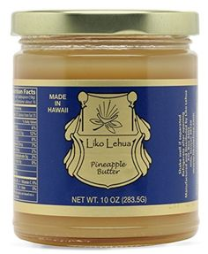 Liko Lehua Pineapple Butter, 10 Ounce by Liko Lehua -- Awesome products selected by Anna Churchill