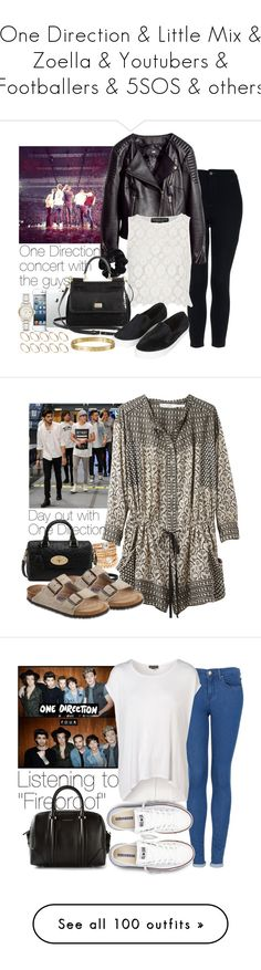 """""""One Direction & Little Mix & Zoella & Youtubers & Footballers & 5SOS & others"""" by wkus ❤ liked on Polyvore featuring Topshop, H&M, American Apparel, Dolce&Gabbana, Burberry, ASOS, Cartier, women's clothing, women's fashion and women"""