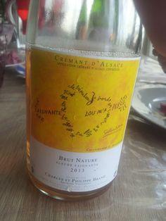 Crémant Brut Nature 2013  #vin #naturel