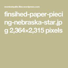 finsihed-paper-piecing-nebraska-star.jpg 2,364×2,315 pixels