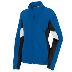 Ladies Tour De France Jacket: Heavyweight 100% polyester matte brushed tricot